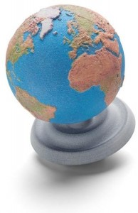 Colered Earth